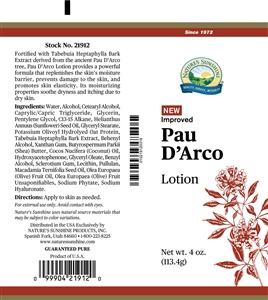 Pau D' Arco Lotion (4 Oz)