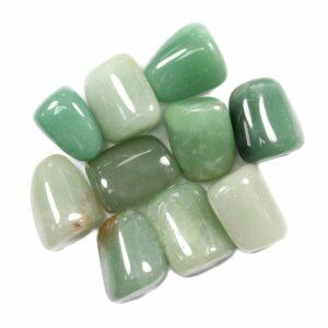 LIBRA Birthstone Tumblestone (Green Aventurine)