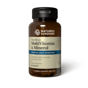 Multiple Vitamin & Mineral Time Release