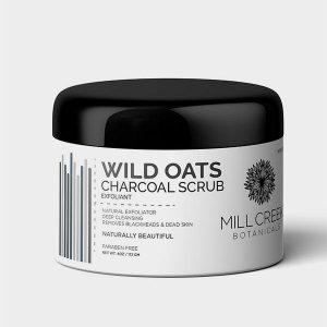 Wild Oats Charcoal Scrub