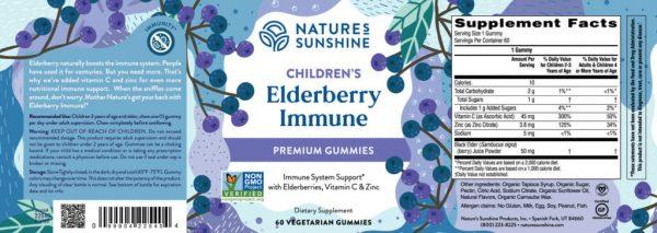 Children's Elderberry Immune