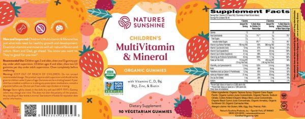 Children's Multivitamin & Mineral