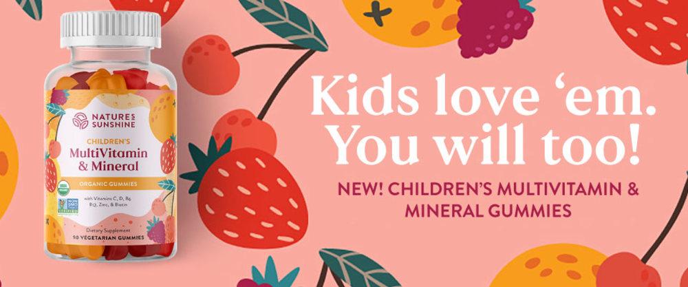 New! Children's Multivitamin & Mineral